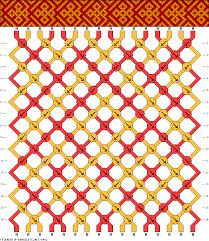 bracelet patterns with string images Clever design string bracelet designs 2 friendship pattern 16 gif