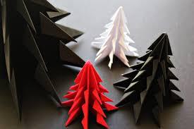 christmas tree origami christmas ideas