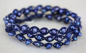 beaded braided bracelet images Beaded leather braided bracelet easy tutorial for a three wrap jpg