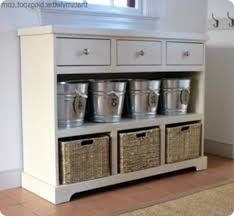 Entryway Table With Baskets Entryway Table With Baskets Entryway Storage Console Ideas Home