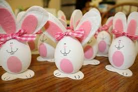 easter rabbits decorations cool easter egg decorating ideas hative