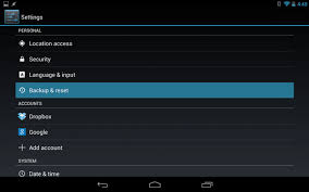 reset android step by step guide to factory reset an android device