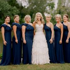 navy blue bridesmaids dresses navy blue wedding bridesmaid dresses naf dresses