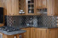 Stainless Steel Backsplash Home  Garden EBay - Stainless steel backsplash
