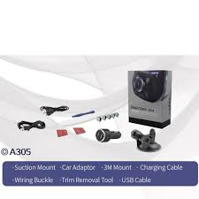 azdome a305 mini hidden full hd 1080p car dvr camera with wifi