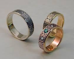marriage rings sets celtic wedding rings set metamorphosis jewelry