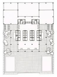 section elevation plan u2013 modern house