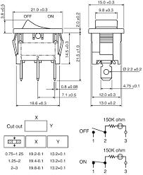 lighted rocker switch wiring diagram 120v wiring radioshack spst neon rocker switch page 1