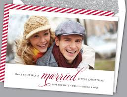 alterations save the date holiday cards