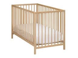 chambre de bébé conforama lit bébé 60 x 120 cm calinou coloris hetre vente de lit bébé