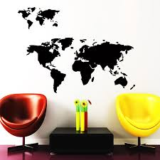 online get cheap earth wall decal aliexpress com alibaba group
