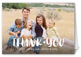 basic thanks 3x5 folded greeting card shutterfly