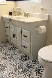 Painting A Bathroom Vanity Before And After by A Painted Bathroom Vanity Makeover Before And After Life On