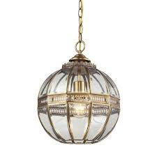 Titan Pendant Light Titan Lighting Randolph 1 Light Brushed Brass And Clear Glass