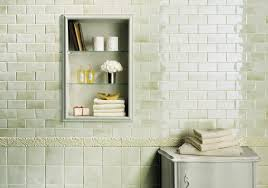 medley by fine in green tea available in 5x5 and 2x5 wall tile