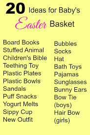baby s easter gifts 20 ideas for baby s easter basket easter basket baby