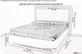 misura materasso matrimoniale misure standard letto matrimoniale materasso gallery of larghezza