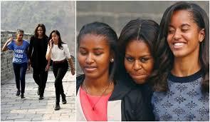 obama s barack obama s kids two beautiful ladies malia and sasha