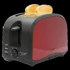 Coolest Toasters Continental Metallic 2 Slice Toaster Metallic Red Target