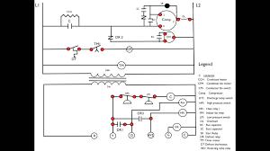 heat pump first stage heat wiring diagram appliance video