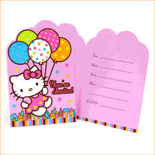 party invitation letter 7 hello kitty party invitations bibliography format