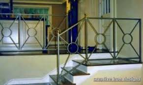 Iron Handrail For Stairs Creative Iron Designs