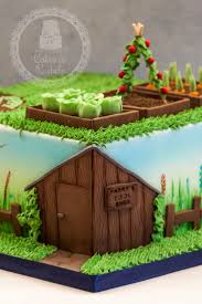 471 best garden cakes images on pinterest garden cakes birthday