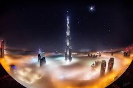 Arab Hd by United Arab Emirates Town Dubai Dubai Burj Khalifa Clouds Fog