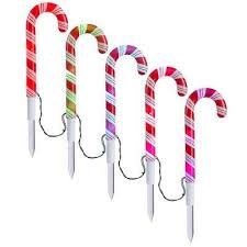 Christmas Outdoor Decorations Canada by Christmas Path Lights U0026 Yard Stakes Outdoor Christmas