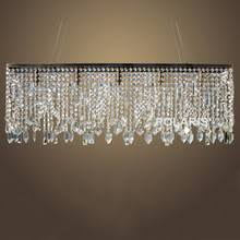 Linear Chandeliers Online Get Cheap Crystal Linear Chandelier Aliexpress Com