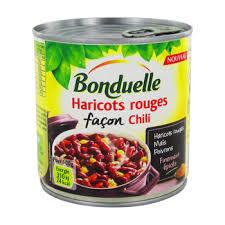 cuisiner les haricots rouges haricots rouges facon chili bonduelle 400g simply market