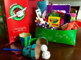 operation christmas child craft paper maché flower pot games