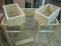fabriquer bureau sur mesure fabrication d un bureau en pin 100 massif meubles delor