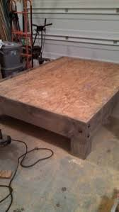 Diy Platform Bed Frame Plans by Best 25 Making A Bed Frame Ideas On Pinterest Build A Platform