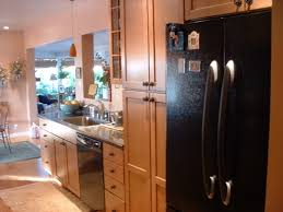track lighting galley kitchen warm home design