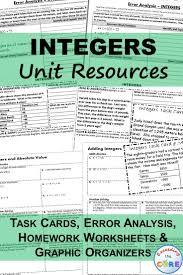oltre 20 migliori idee su adding integers worksheet su pinterest