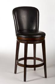 Black Leather Bar Stool Furniture Traditional Black Leather Bar Stools With Backs With