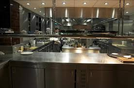 modern open kitchen concept modern open restaurant kitchen design caruba info