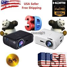 1080p home theater projector 7000 lumens full hd 1080p lcd 3d vga hdmi tv home theater
