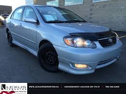 used lexus parts sun valley ca used silver 2007 toyota corolla auto sport review medicine hat