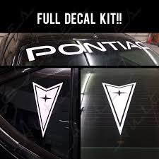 jdm sticker rear window bumper stickers graphics decals for pontiac ebay