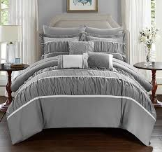 amazon com chic home cheryl 10 piece comforter set complete bed