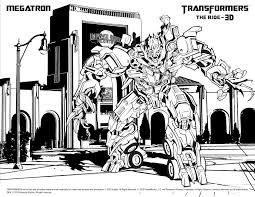 92 megatron transformers coloring page transformer coloring