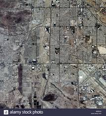 Tucson Arizona Map by Aerial Map View Above Tucson Arizona Stock Photo Royalty Free