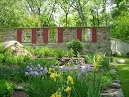 Unique Garden Decor Ideas For Garden Walls Landscape Tropical With Unique Garden Wall