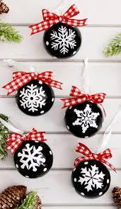 vinyl snowflake ornaments