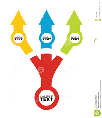flow chart template with color stock vector image 47618794