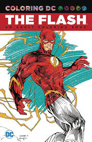 comic book color jul160402 flash an coloring book tp previews world