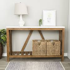 Entry Console Table Gracie Oaks Entry Console Table Reviews Wayfair