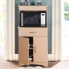 Microwave Storage Cabinet Microwave Stand Kitchen Storage Cabinet Shelf Drawer Rack